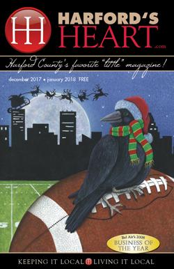 Harford's Heart December 2017/January 2018 Magazine - Harford County