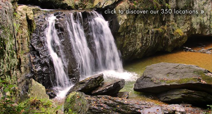 Kilgore Falls in Harford County